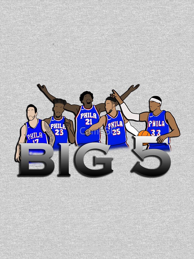 The Big 5 76er's Team by Cams86