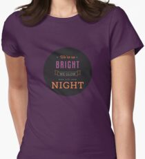 We Glow in the Night - Circle Version T-Shirt