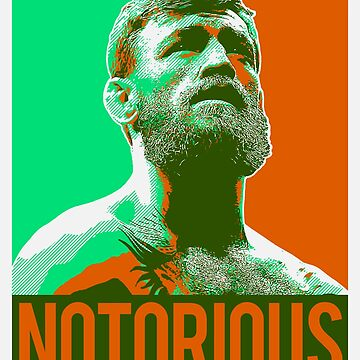 Conor McGregor Notorious Looking Up by bigtimmystyle