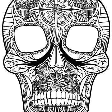 Inked Candy Skull - Journey by LOOSEstudio