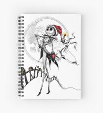Jack Skellington & Zero Spiral Notebook