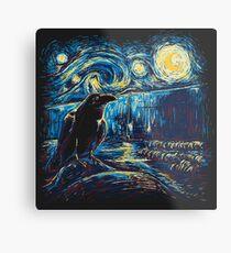 Starry Night's Watch Metal Print