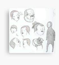 More pen sketching Canvas Print