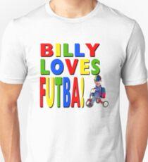 Billy Loves Futba! Unisex T-Shirt