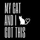 My Cat and I got this Typography by purelifephotoss