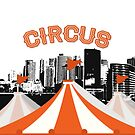 Circus in the big city by coolteeclothing