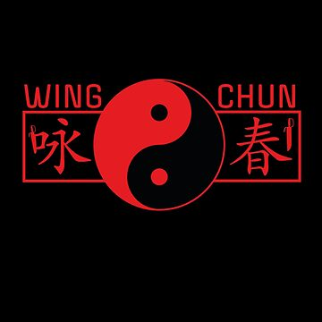 Wing Chun Kung Fu Yin Yang by DeLaFont