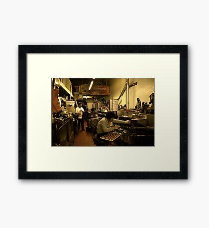Golden Gate Fortune Cookie Factory Framed Print