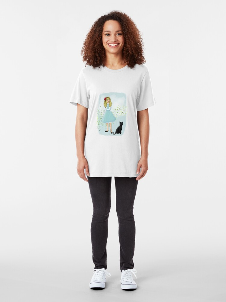 Alternate view of Ozma and Maddy Slim Fit T-Shirt