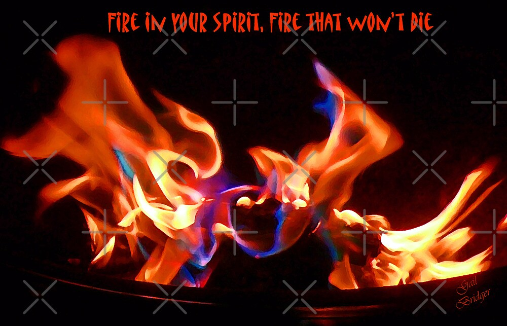 Fire In Your Spirit by Gail Bridger