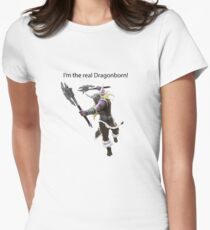 Olaf The DragonBorn Womens Fitted T-Shirt