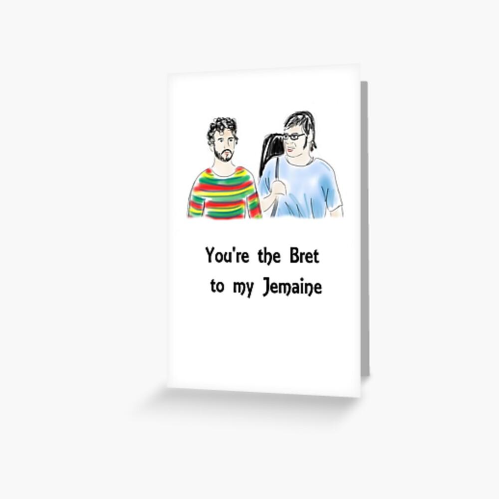 Eres el Bret de mi Jemaine Tarjetas de felicitación