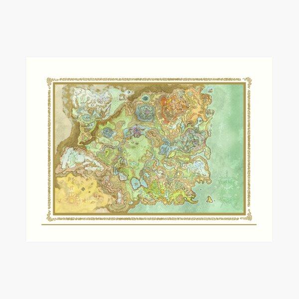 Wild Kingdom of Hyrule Art Print