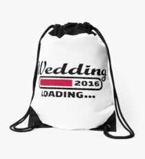 Wedding 2016 Drawstring Bag