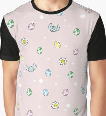 Yoshis Muster Grafik T-Shirt