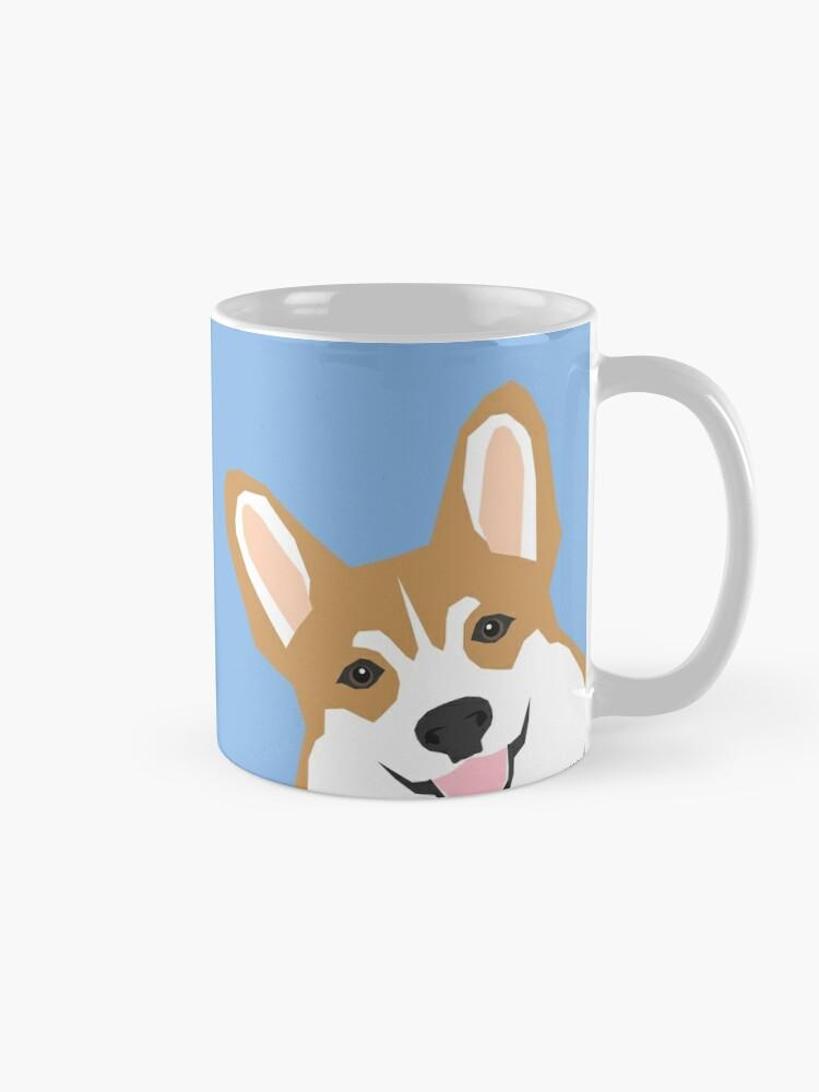 c5715cfeadf1 Corgi Peek cute dog welsh corgi gift unique pet customizable gifts for dog  lovers Mugs