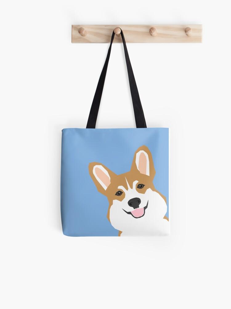 105ad32c9ac3 Corgi Peek cute dog welsh corgi gift unique pet customizable gifts for dog  lovers Tote Bag