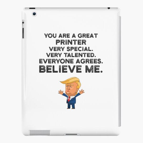 Printer Funny Trump iPad Snap Case