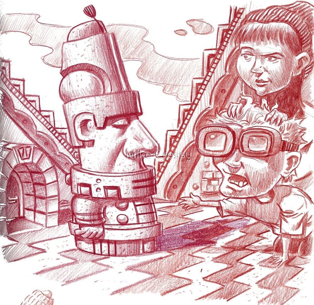 Time Traveling to the Aztecs by Mike Cressy