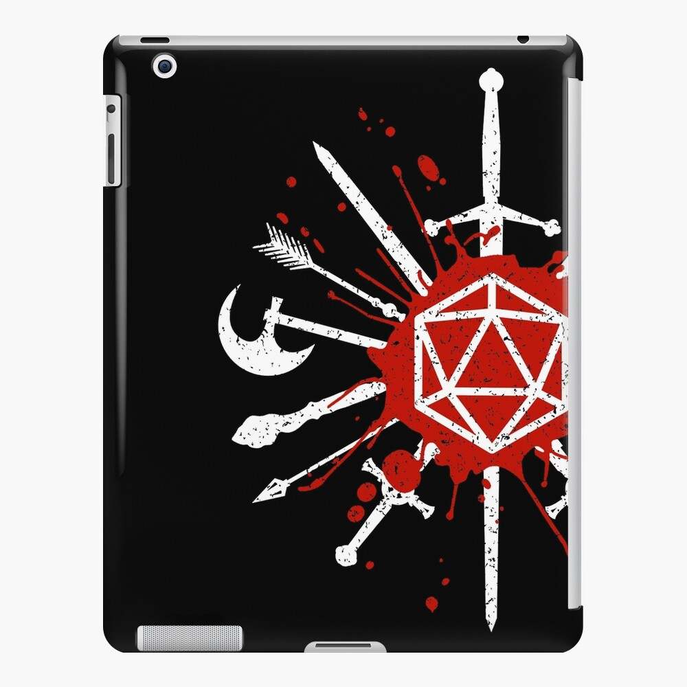 Choose your weapon iPad Case & Skin