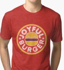 Joyful Burger Tri-blend T-Shirt