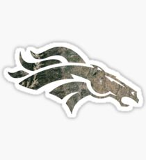Satellite Map - DEN Broncos Sticker