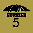 Number 5 by Slinky-Reebs