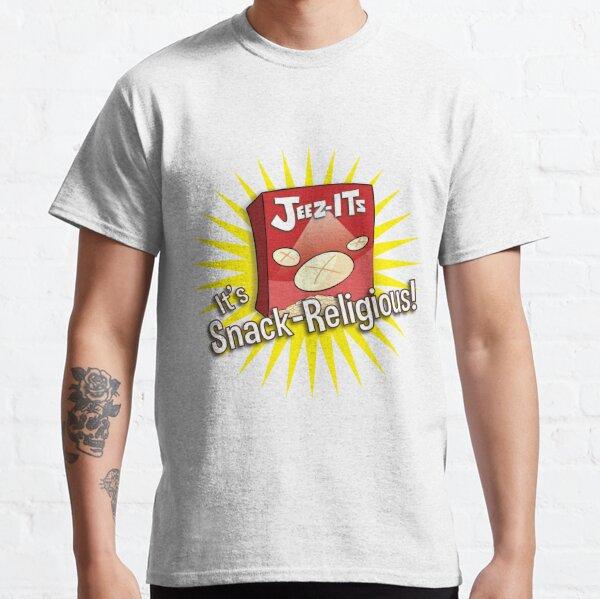 Jeez-Its - It's Snack-Religious! Classic T-Shirt