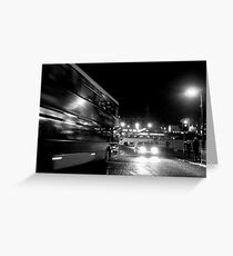 Waverley, nocturnal Greeting Card
