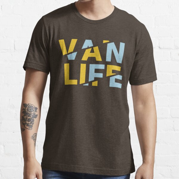 Van Life yellow blue Essential T-Shirt
