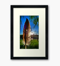 Of a Feather Framed Print