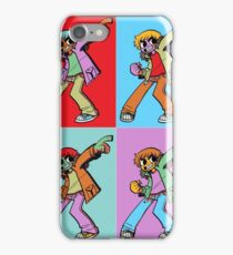 Scott Pilgrim Pop Art iPhone Case/Skin