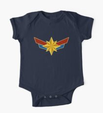 Superheldin Baby Body Kurzarm