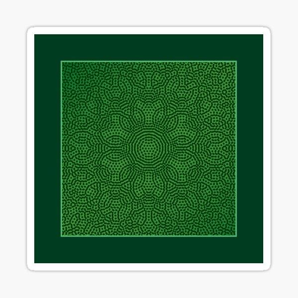 Pattern 042: Hex Moiré II Sticker