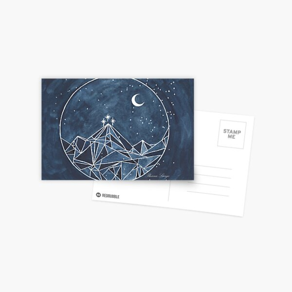 night court moon and stars Postcard