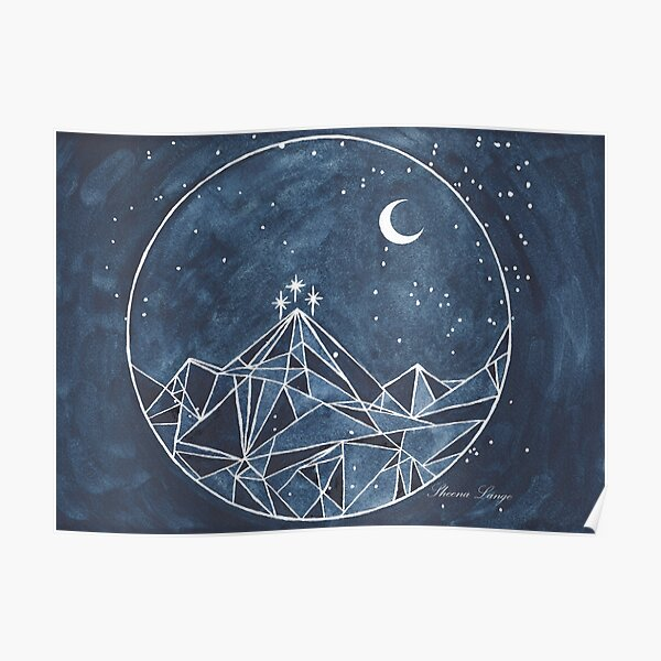 night court moon and stars Poster