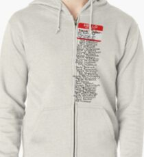 Have You Signed Sherri's Birthday Card? Zipped Hoodie