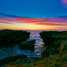 King Islands Rocky Shores at Dawn by Kenneth Hall