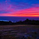 Waiting For The Sun on Bass Strait by Kenneth Hall