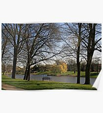 Spring In Lincoln Park Lagoon Poster
