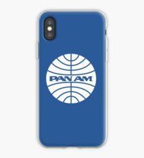 Pan Am Shirt Aufkleber Aufkleber iPhone-Hülle & Cover