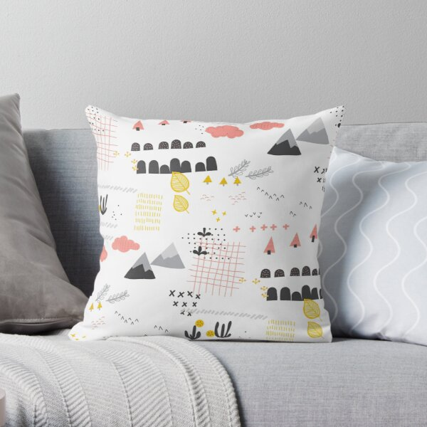 Paysage scandinave Coussin