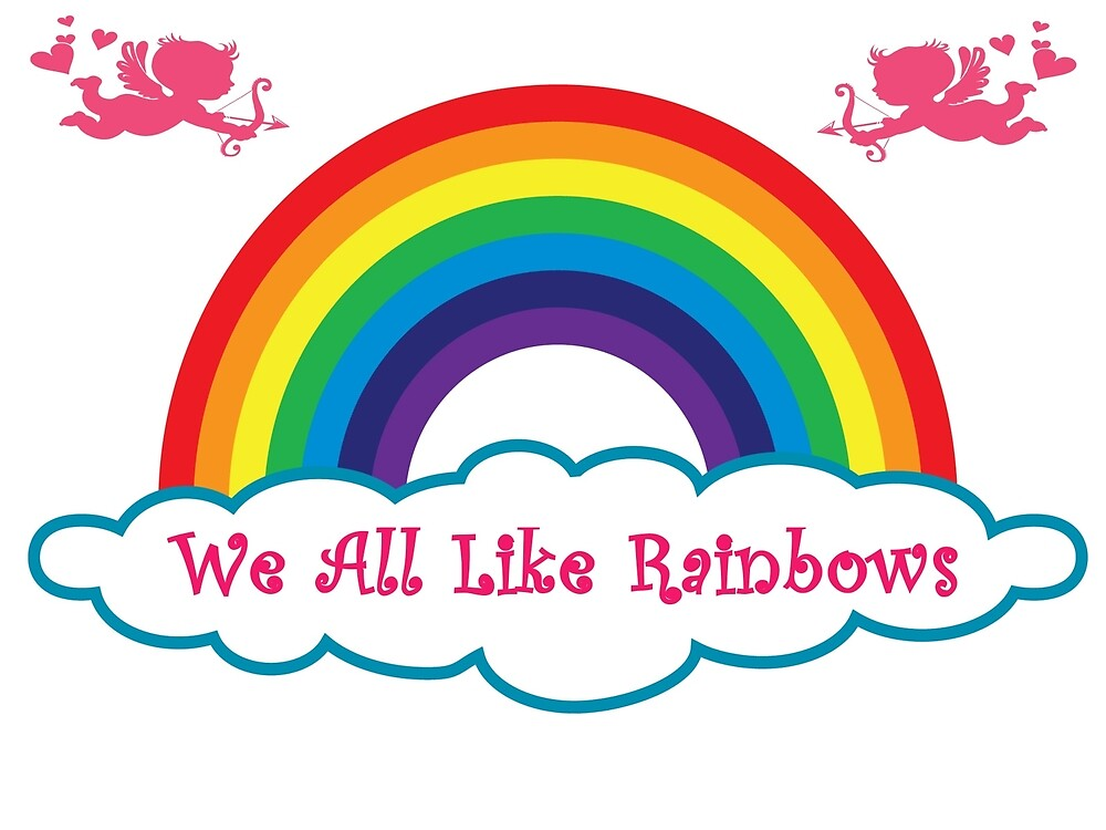 We All Like Rainbows by Wallo
