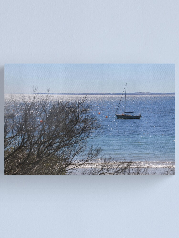 Alternate view of Boat by Flinder's Pier Canvas Print