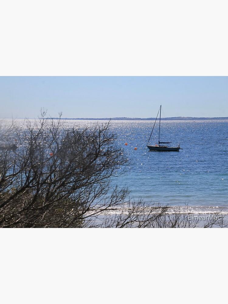 Boat by Flinder's Pier by EimearMac