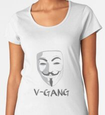 V-GANG Women's Premium T-Shirt