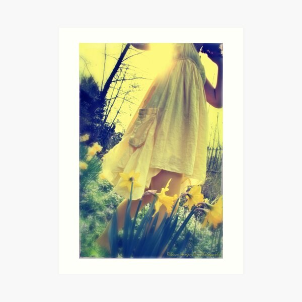 spring breeze - early evening Art Print