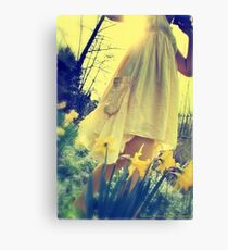 spring breeze - early evening Canvas Print