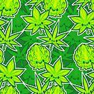Kawaii Kush - Green Weedies by Penelope Barbalios