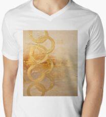 Crop Circles Men's V-Neck T-Shirt